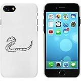 Blanc 'Serpent' étui / housse pour iPhone 7 (MC00070904)