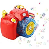 Powerpak Bubble Camera - iPlay, iLearn Music Bubble Toy Bubble Machine with Bubble Solution for 3+ Kids Outdoor and Indoor - Multi Color