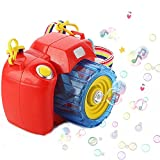 Powerpak Bubble Camera - iPlay, iLearn Music Bubble Toy Bubble Machine with Bubble
