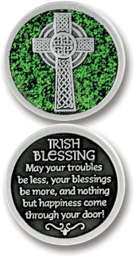 cathedral-art-pt622-irish-blessing-companion-unique-decorative-coin-1-1-4-inch