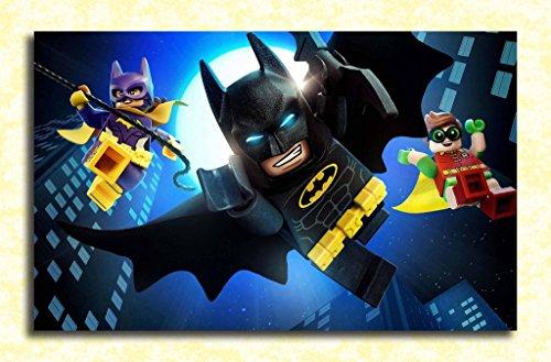Tamatina Batman Wall Poster - Batman - Lego City - HD Quality Poster  available at amazon for Rs.249