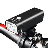 Mercery 600lm/300lm 2500mah imprägniern LED Fahrrad-Licht-Satz-USB-Aufladbare Taschenlampe-Beleuchtet Sätze 5 Modi Zyklus-Licht-Lampe Super Heller Scheinwerfer-Schnellverschluß