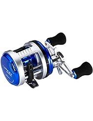 Baitcasting Moulinet tambour de roue avec 7+ 1roulements à billes magnétique Système de freins en métal Pêche moulinets gauche/droite à la main
