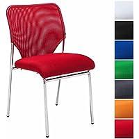 Sedie Per Sala Dattesa Studio Medico.Amazon It Rosso Sedie Per Sala D Attesa Studio Casa E