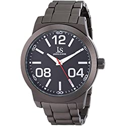 Joshua & Sons Reloj de cuarzo JS82BK Gris 47mm mm