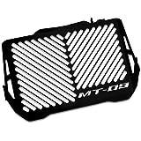 Protections radiateur Yamaha MT-09 Tracer 15-17 Inox noir logo