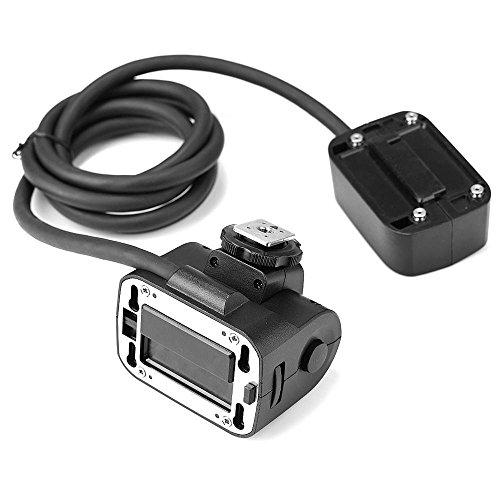Godox EC200 Separated Flash Head Cable for AD200 EC200 AD200 Remote Separation Verlängerungskopf mit Blitzschuh für Godox AD200 Flash Remote-head