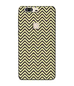 PrintVisa Designer Back Case Cover for Huawei Honor V8 (Zigzag Saw tooth)