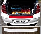 passgenau für BMW 1er E87 2004-2011; Lackschutzfolie Ladekantenschutz transparent