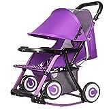 Peixia Department Store Kinderwagen Leichte kompakte Baby Schaukelstuhl 2-in-1 Kinderwagen Spielzeug geeignet für Babys 0-36 Monate alt (Farbe : 1#)