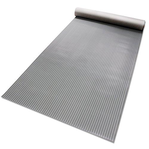 Passatoia antiscivolo in gomma | rivestimento pavimento, resistente, isolante | lavoro, industria | vari modelli e misure | design millerighe - 200x400cm - nero