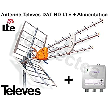 televes dat hd lte boss 790 antenne uhf tnt hd trinappe 17 db alimentation high tech. Black Bedroom Furniture Sets. Home Design Ideas