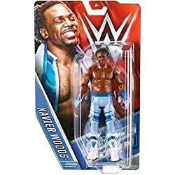 XAVIER WOODS - WWE SERIES 56 MATTEL TOY WRESTLING ACTION FIGURE by Wrestling