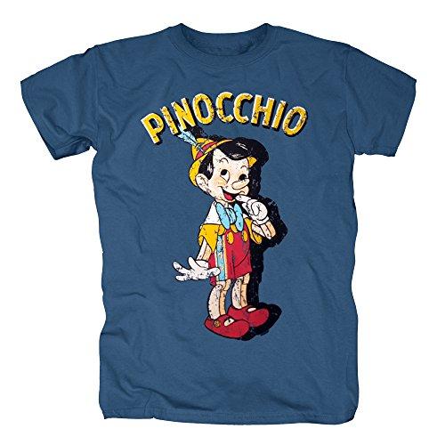 TSP Pinocchio T-Shirt Herren M (Kostüm Halloween Duck Donald)
