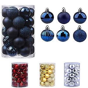 Bolas de Navidad 34 Piezas