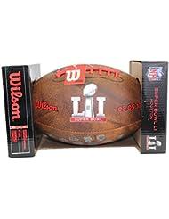 NFL Wilson Official Super Bowl 51 LI Commemorative Logo Football