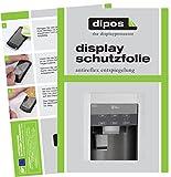 LG GSJ 361 DIDV Schutzfolie - 2x dipos Displayschutzfolie Folie matt
