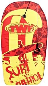 TWF EPS Bodyboard - Red/Yellow, 33 Inch