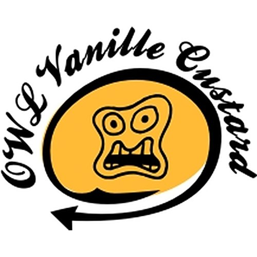 Owl Dampfer Aroma 30ml kein e liquid Nikotinfrei Vanilla Custard (Vanillecreme) Pudding Vanille