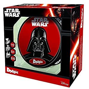 Asmodee asm0002 - dobble Star Wars, Juego de cartas, multicolor