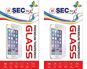 SEC TEMPERED GLASS FOR HUAWEI HONOR 6 (Pack Of 2)