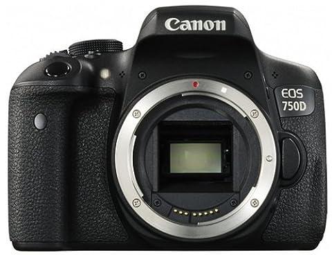 Canon - EOS 750D - Appareil Photo Numérique - Boîtier