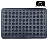 EHC Non-Slip Anti-Fatigue Heavy Duty Rubber Bubble Door Mat, 60 x 90cms, 90