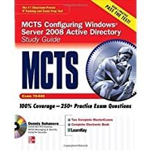 MCTS Windows Server 2008 Active Directory Services Study Guide (Exam 70-640) (SET) by Dennis Suhanovs (2008-11-17)