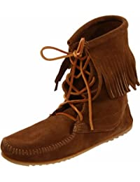 Minnetonka Tramper Ankle Hi Boot 421T - Botas de ante para mujer