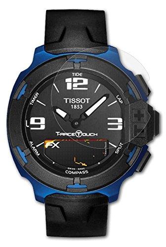 Tissot T-Race Touch Displayschutzfolie - 3 x atFoliX FX-Antireflex-HD hochauflösende entspiegelnde Folie
