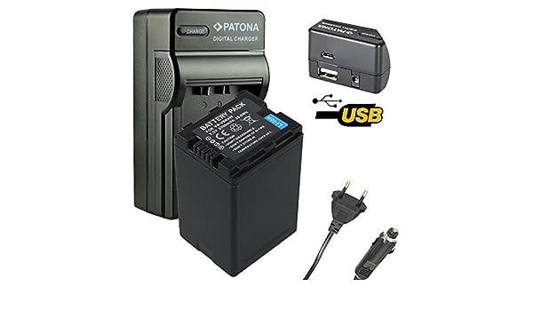 Cargador de batería para Panasonic hdc sd800 sd900 sd909 tm900 hs900