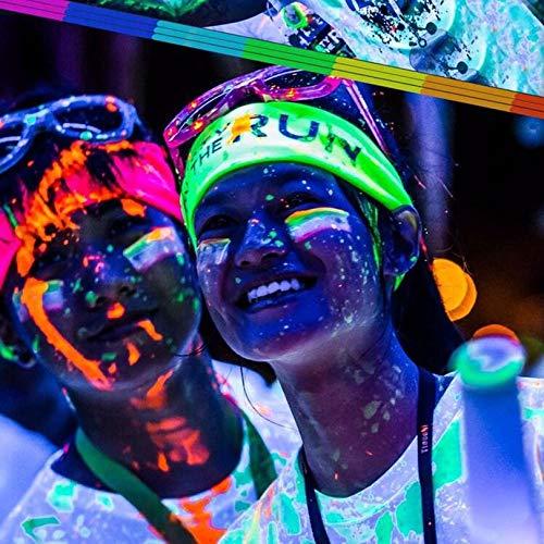 Opearancees 13 Farben DIY Top Eco ungiftig geruchsfrei Wasserdichte Graffiti Farbe Leuchtend Acryl Glow in The Dark Pigment Party Walls (The Zubehör Dark Partys In Für Glow)