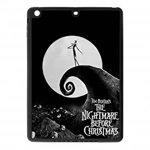 The Nightmare Before Christmas Customized PC Back&TPU Edges Material Case Cover For ipad air