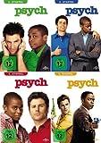 Psych Staffel 1-4 (16 DVDs)