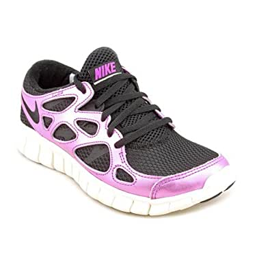 Nike Free Run 2 Prm Ext Womens Purple Mesh Running Shoes ...