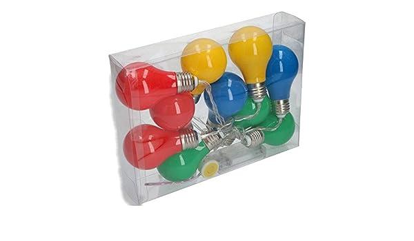 Gekleurde Led Lampen : Party lighting feestverlichting met gekleurde led lampen m