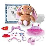 Build A Bear Workshop Furry Fashions Ballerina Bunny Soft Cuddly Stuffed Toy New