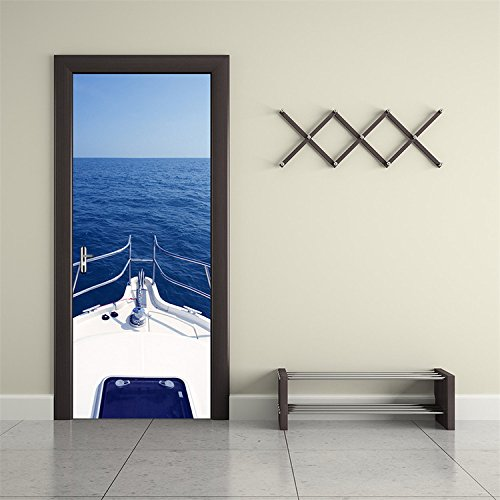 yanqiao-motorboat-yacht-door-decal-stickers-removable-art-home-decorations-diy-wallpaper-easy-to-app