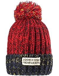 c3ffe0683a544 Sombreros de punto para las mujeres - YOPINDO Girls Beanie Hat lana de  invierno de invierno