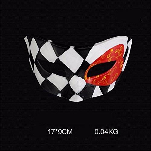Mens Maskerade Masken Maske Masken für Fancy Dress -