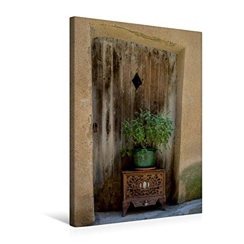 Premium Textil-Leinwand 50 x 75 cm Hoch-Format Tür in Goult | Wandbild, HD-Bild auf Keilrahmen, Fertigbild auf hochwertigem Vlies, Leinwanddruck von Thomas Seethaler