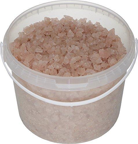 SIVASH rosa Meer-Badesalz, unraffiniert, naturbelassen, 5 kg, für 10 Bäder, großer Kristall