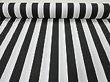 Weiß gestreifter Stoff-Gestreiftes Vorhang- und