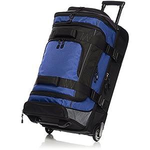 AmazonBasics – Mochila con ruedas de ripstop, 72 cm, 64 litros – Azul