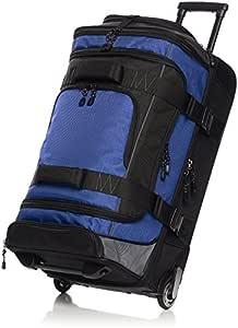 AmazonBasics 26 Inch (66 cm) Duffel Trolley Bag - Blue