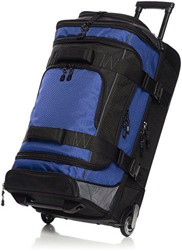 AmazonBasics - Mochila con ruedas de ripstop, 66 cm - Azul