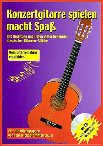 Konzertgitarre Spielen Macht Spa