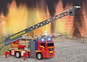 Dickie Feuerwehrauto mit Licht, Sound und Spritzfunktion