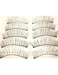 10 Pairs False Fake Eyelashes Natural Extensions Makeup Thick 217 by Desire