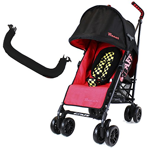 iSafe buggy Stroller Pushchair - Racer (Complete With Bumper Bar & Rain cover)